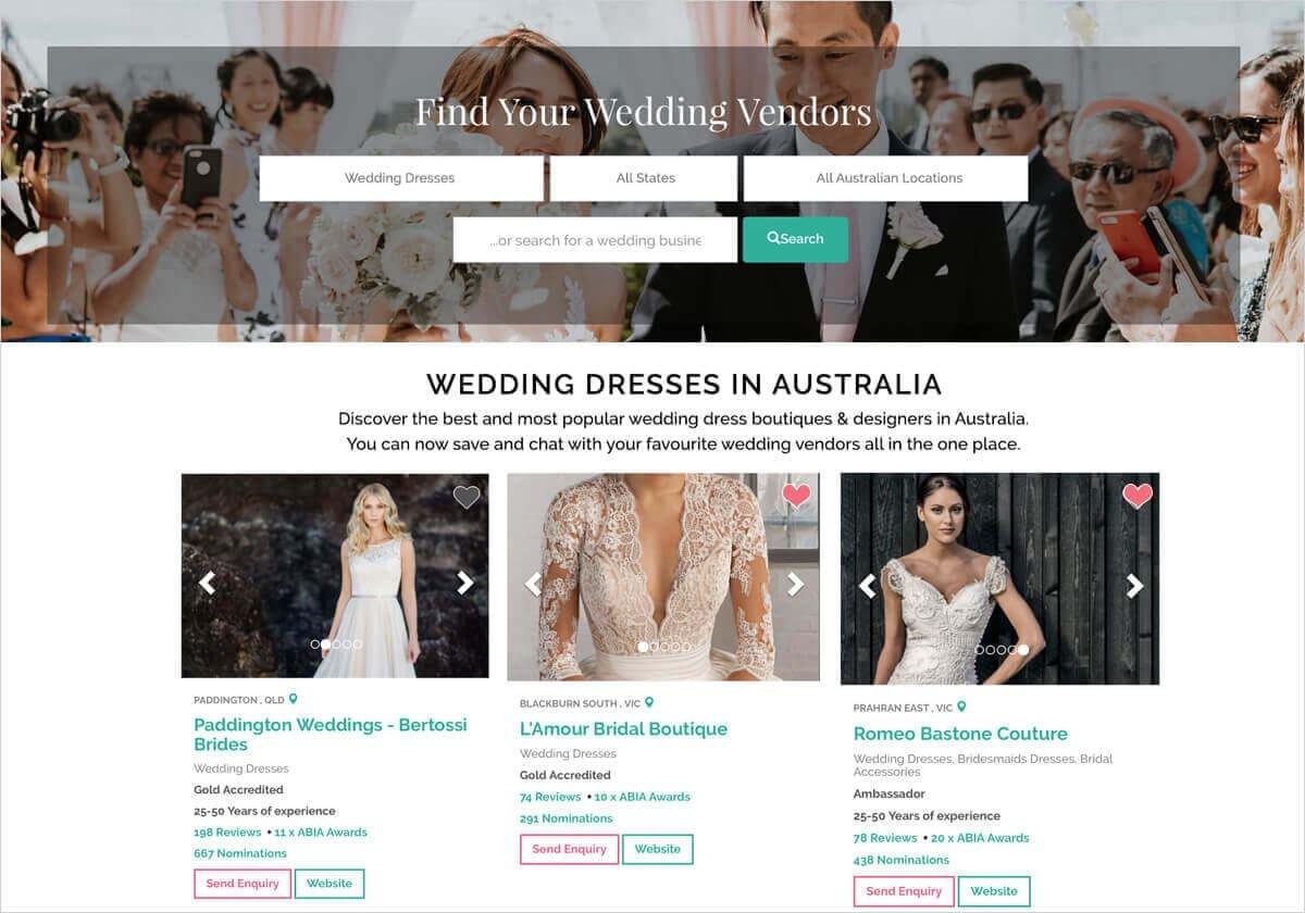 ABIA Wedding Dress Directory