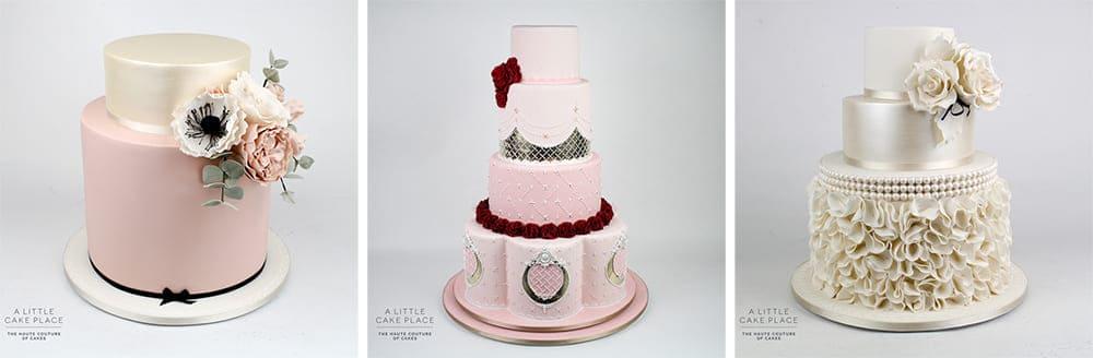 Simple & Elegant Wedding Cakes