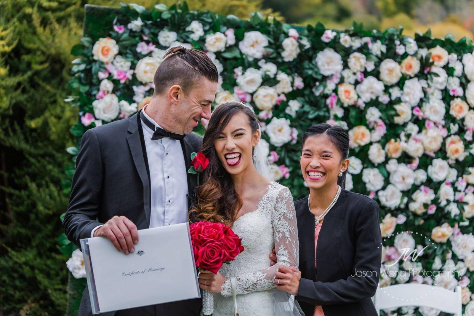 Ceremonies by Gerrelyn | Adelaide Weddings | ABIA Finalist