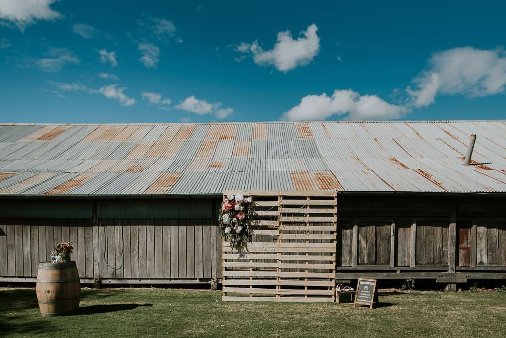 Country Jondaryan Woolshed Wedding