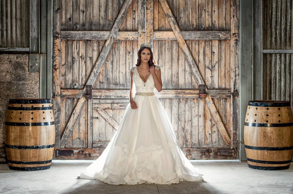 Melbourne Wedding Dress Designer - ABIA Award Winner