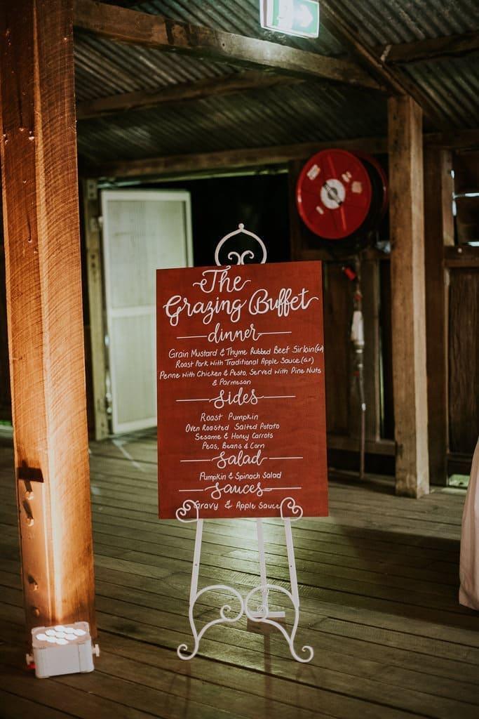 Wedding Buffet - Menu Ideas - ABIA Real Wedding