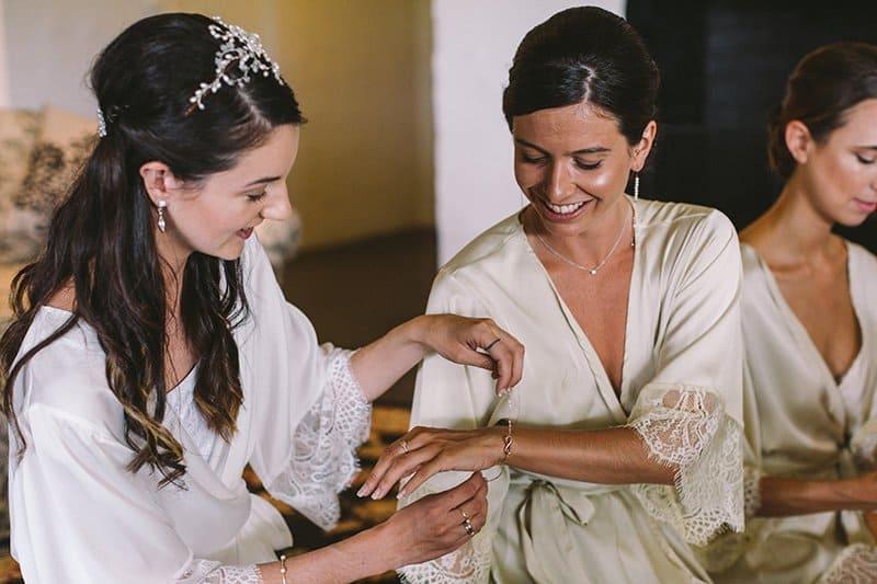 ABIA Bride & Maid of Honour - Wedding Preparation