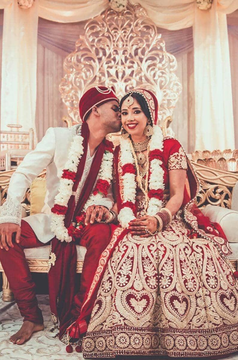 Indian Wedding Dress - Rosalyn Win