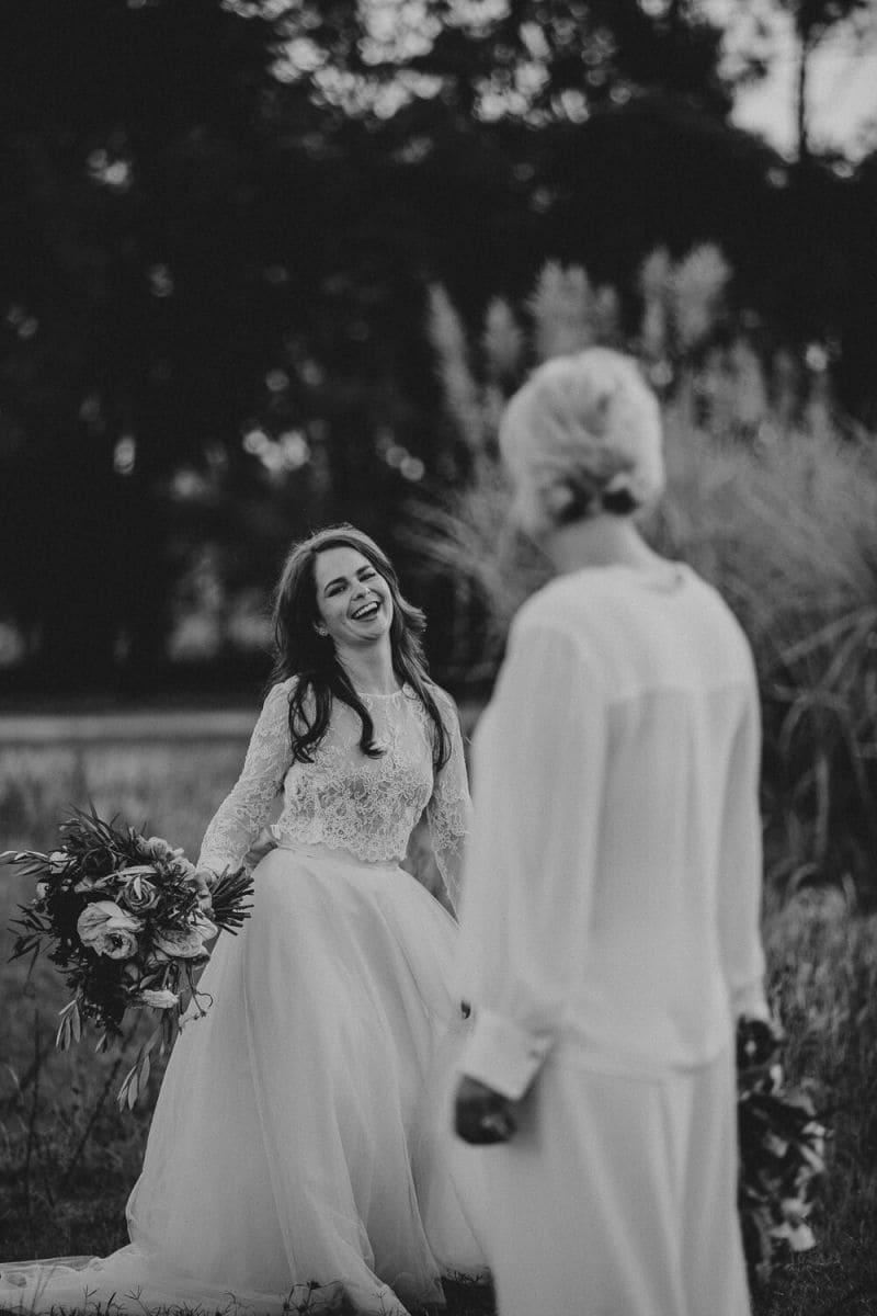 Bride and Bride Moments