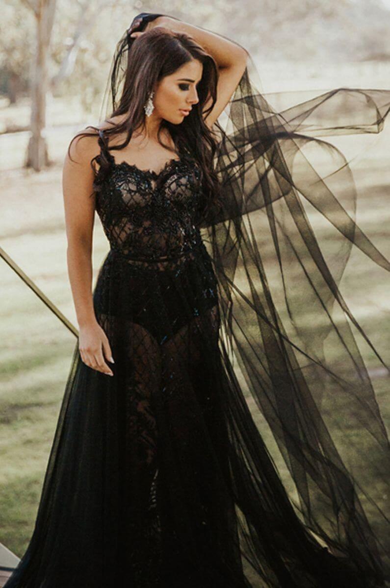 Black - Hollyrose Couture Wedding Dresses