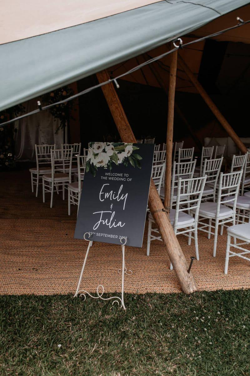 Boho Wedding Welcome Sign
