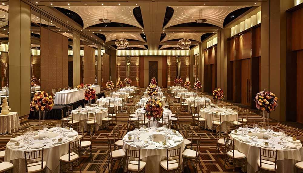 The Crown Melbourne Wedding Venue - ABIA Award Winning Hotel Reception