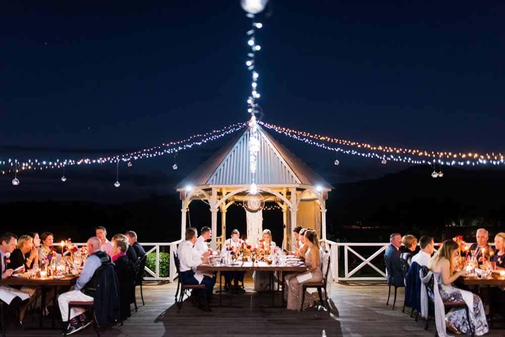 Albert River Wines Outdoor Wedding Venue