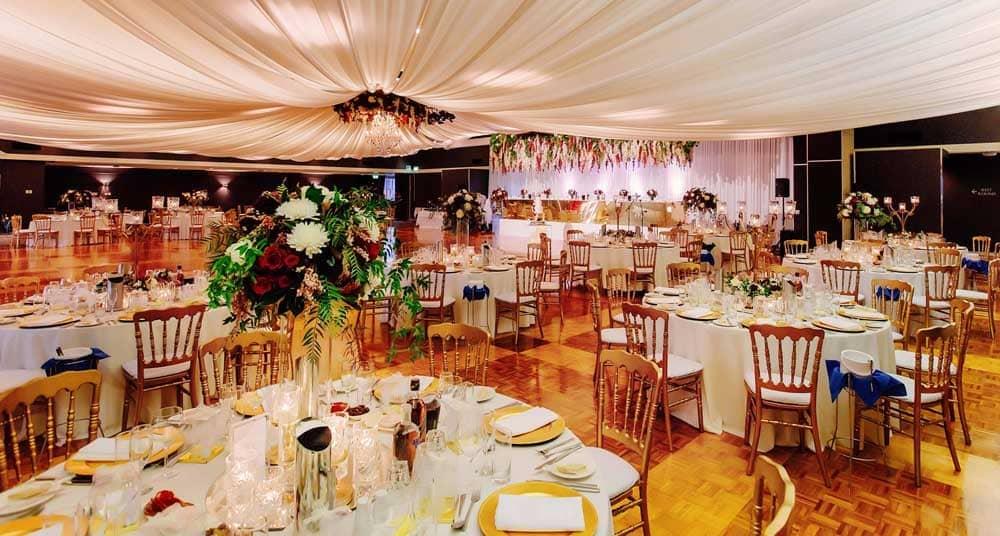 Wedding Hire Tables & Chairs | Greek Club Weddings in Brisbane