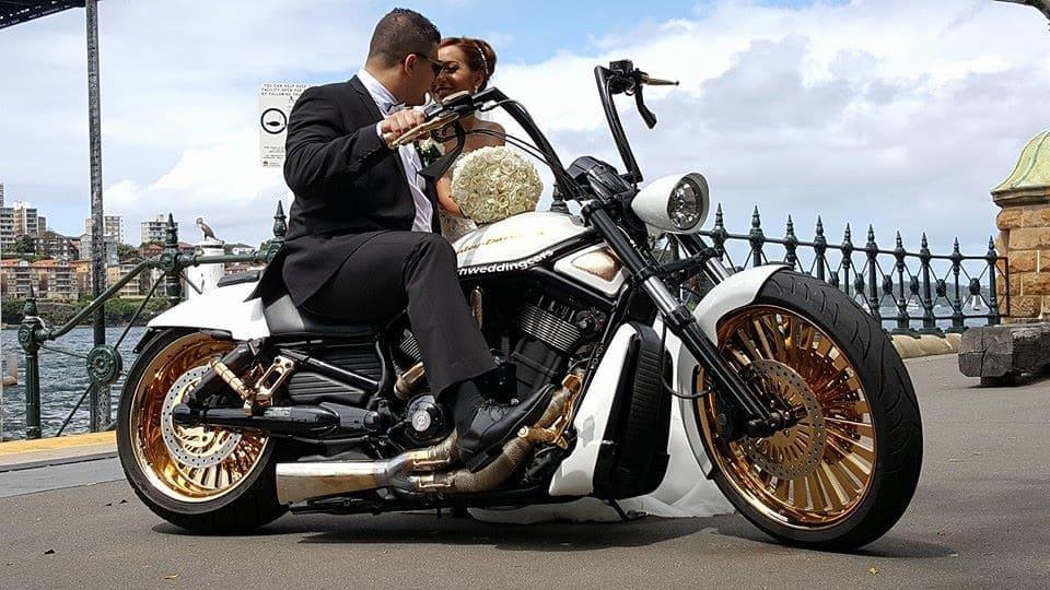 Wedding Motorbike Sydney Hire