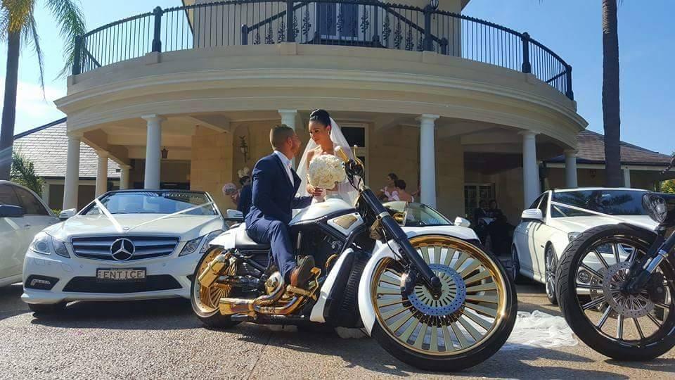 Sydney Wedding Motorbikes - Sydney